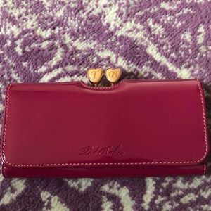 Patent Leather Ted Baker Wallet